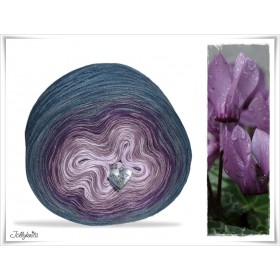 Gradient Yarn Cotton CYCLAMEN