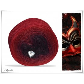 Gradient Yarn Cotton RED DEVIL