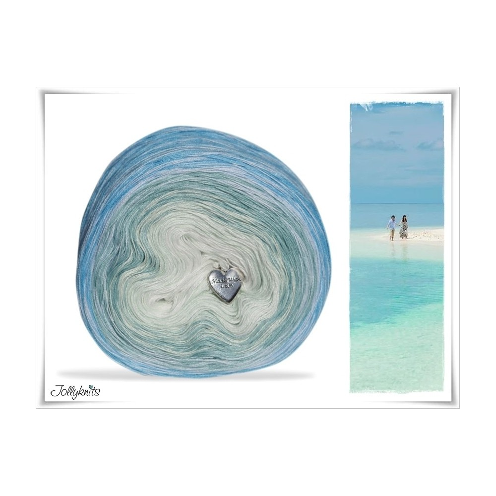 Gradient Yarn Cotton SEAWATER