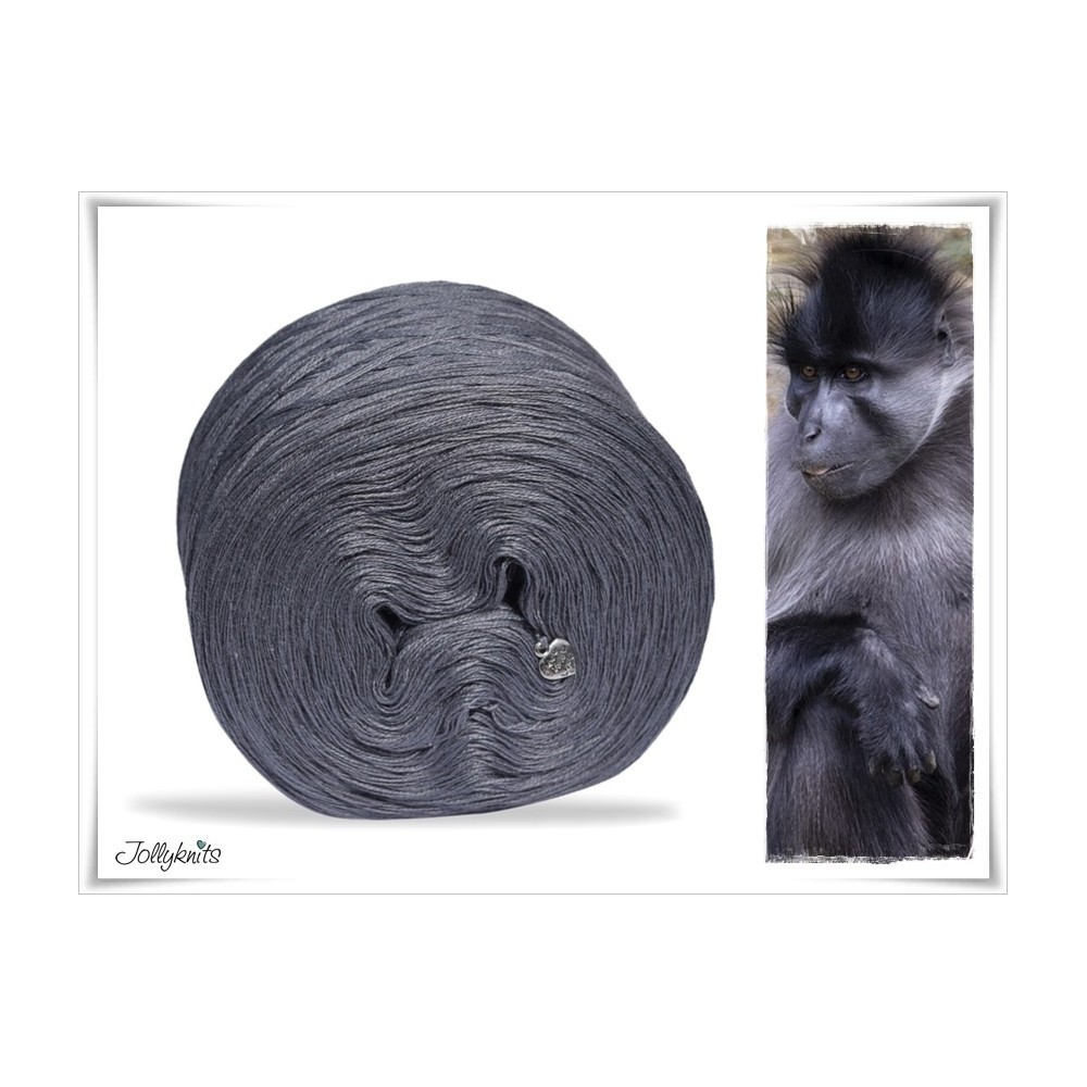 Solid Yarn Cotton MIDDLE GREY