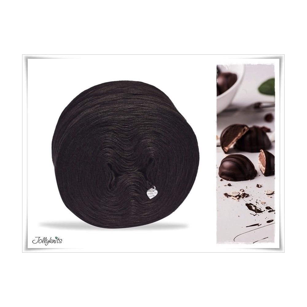 Solid Yarn Cotton CHOCOLATE