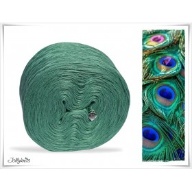 Solid Yarn Cotton GREEN MOTTLED