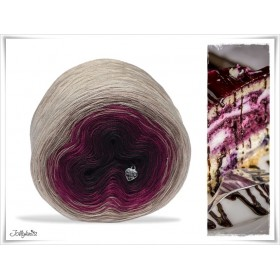 Gradient Yarn Cotton BLACK FORREST
