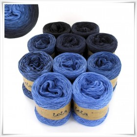Bobbel Boxx Gradient Yarn DENIM NO.4