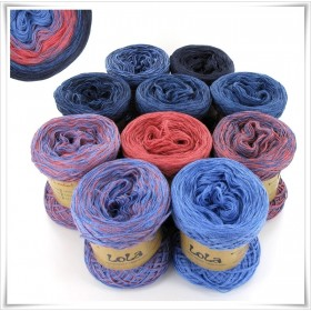 Bobbel Boxx Gradient Yarn DENIM NO.13