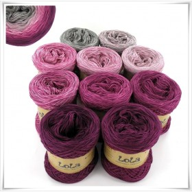 Bobbel Boxx Gradient Yarn FLAMINGOFLOWER