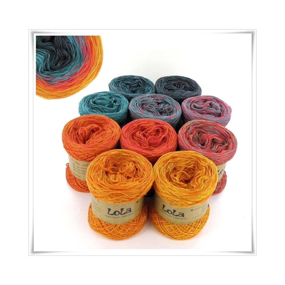 Bobbel Boxx Gradient Yarn ORNAMENTAL PUMPKIN