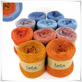 Bobbel Boxx Gradient Yarn BLUE FIRE