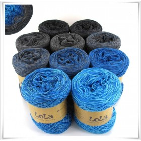 Bobbel Boxx Gradient Yarn DARK BLUE