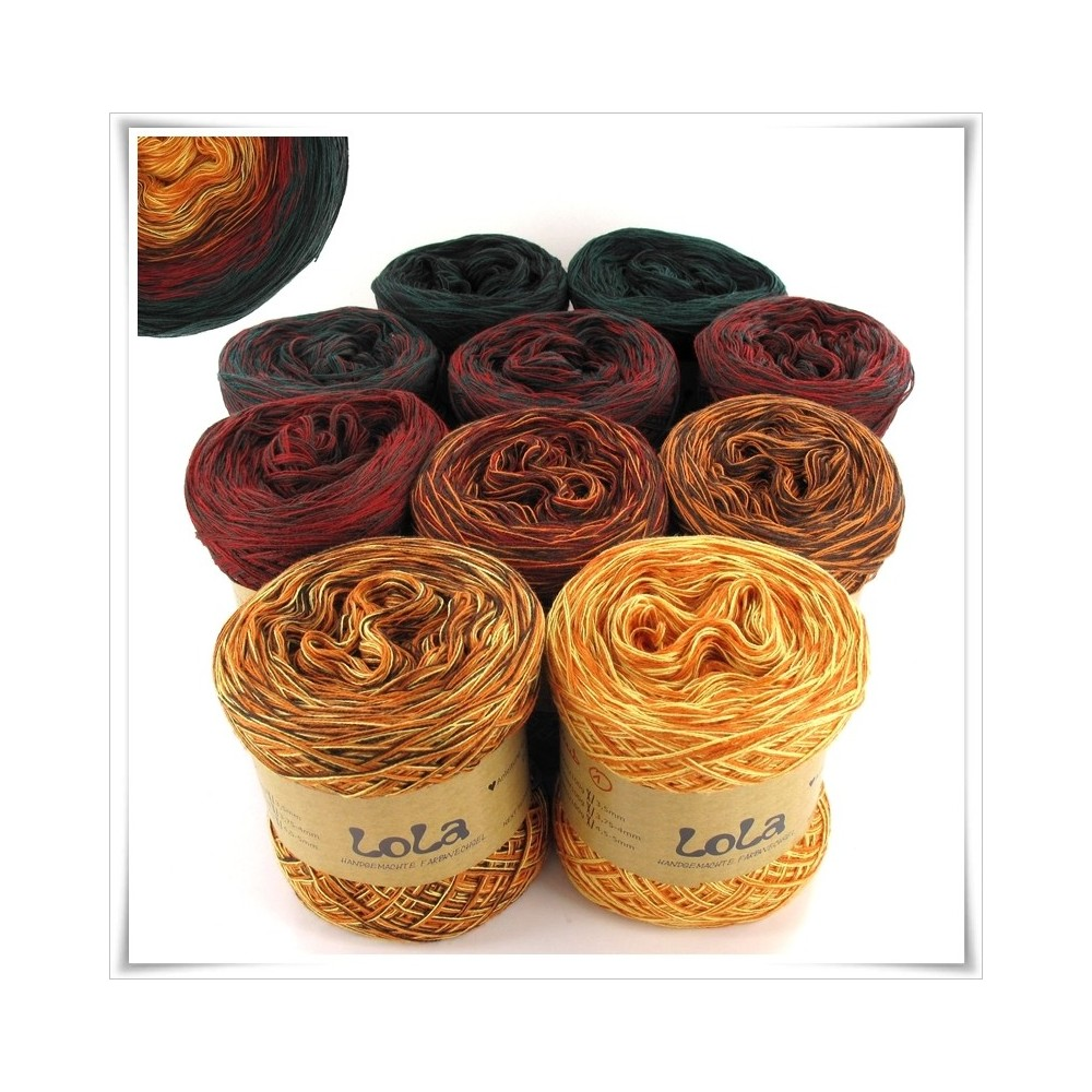 Bobbel Boxx Gradient Yarn AUTUMN FOLIAGE