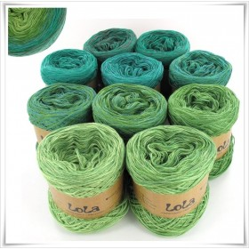 Bobbel Boxx Gradient Yarn TREE FROG