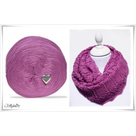 Gradient Yarn + Knitting pattern MALVA