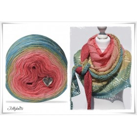 Gradient Yarn + Knitting pattern SUMMER FEELING