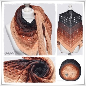 Knitting Pattern Lace Shawl...