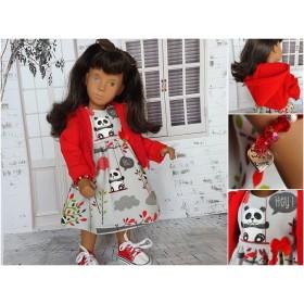 Kleiderset RED PANDA