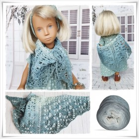 Knitting Pattern Lace Shawl...